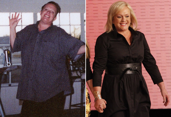 Mary Ann before and after losing 103 pounds