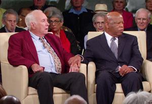 Elwin Wilson and Congressman John Lewis