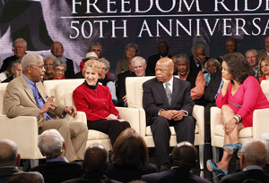 "Ernest ""Rip"" Patton, Jr., Carol Ruth Silver, Congressman John Lewis and Oprah"