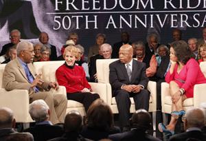 "Ernest ""Rip"" Patton, Jr., Carol Ruth Silver, Congressman John Lewis and Oprah"