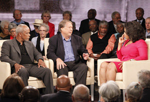 Stanley Nelson, Ray Arsenault and Oprah