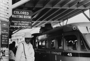 Jim Crow signs