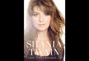Shania Twain's book From This Moment On