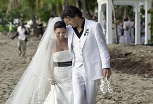 Shania's wedding day