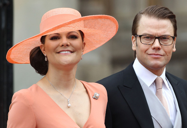 Prince Daniel and Princess Victoria of Sweden