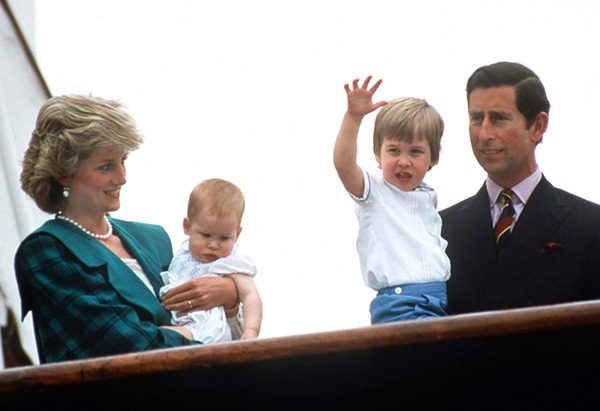 Prince William at age 2