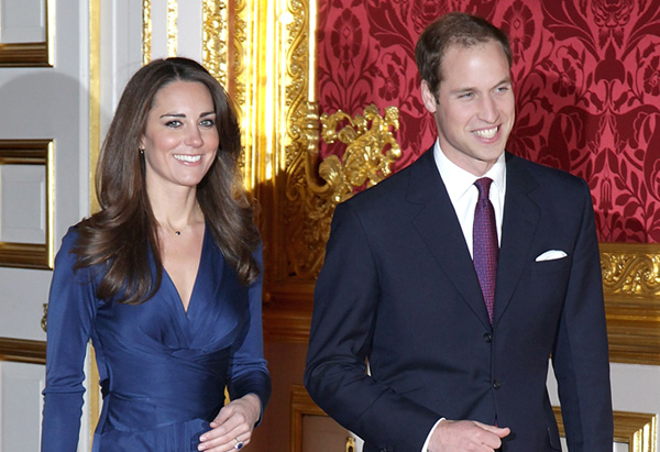 Prince William and Kate announce their engagement