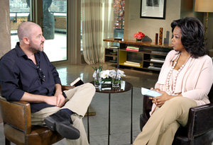 James Frey and Oprah