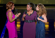 Gayle King, Oprah Winfrey and Maria Shriver