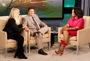 Chaz Bono, his aunt Georganne and Oprah