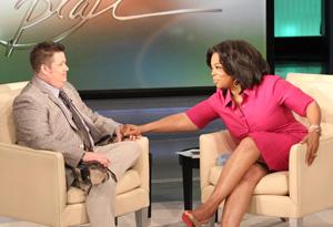 Chaz Bono and Oprah