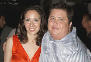 Chaz Bono and Jenny
