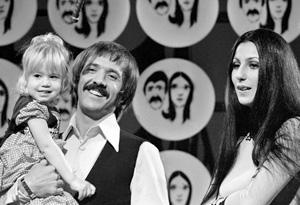 Sonny Bono, Chastity Bono and Cher