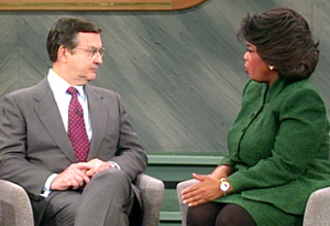 Dr. Hendrix and Oprah