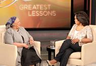 Toni Morrison and Oprah Winfrey
