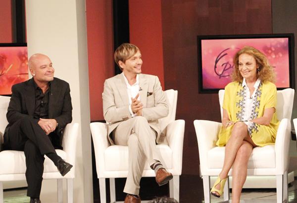 Diane von Furstenberg, Ken Paves and Collier Strong