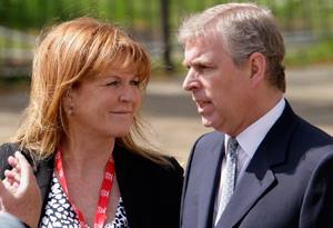 Sarah Ferguson and Prince Andrew