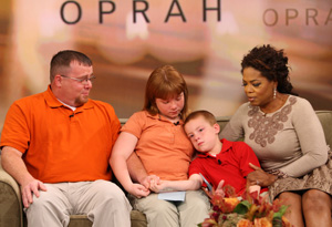 Jim, Daisy, Kris and Oprah