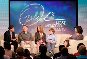 Gary, Jim, Daisy, Kris and Oprah