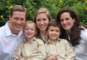 Peyton, Doug, Cheryl, Brian and David