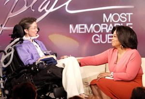 Jeni Stepanek and Oprah