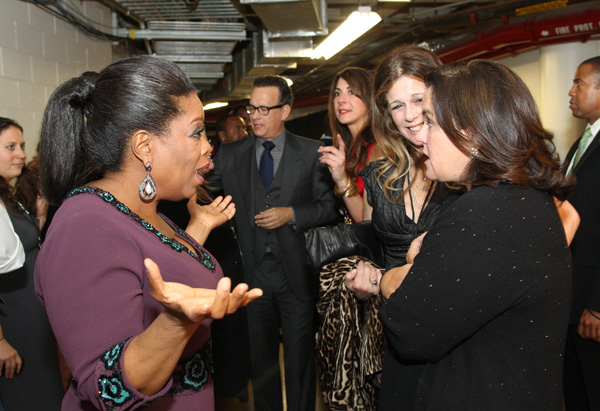 Oprah, Rita Wilson and Rosie
