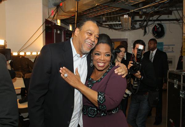 Joe and Oprah