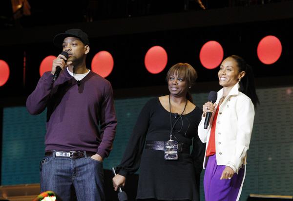 Will Smith, Lesia, Jada Pinkett Smith
