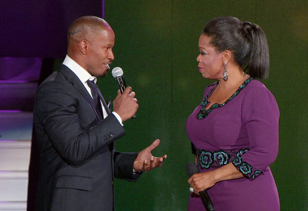 Foxx Refuses To Clear Up Winfrey Romance Rumours