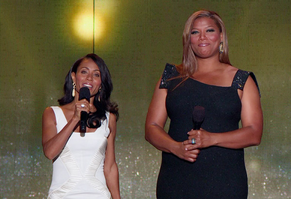 Jada Pinkett Smith and Queen Latifah
