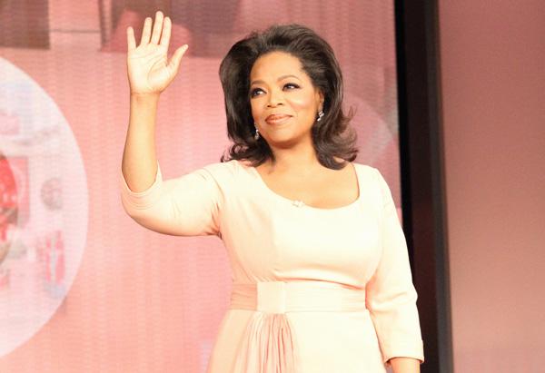 Oprah Winfrey's hair for finale show