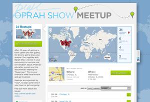 Oprah Show Meetup