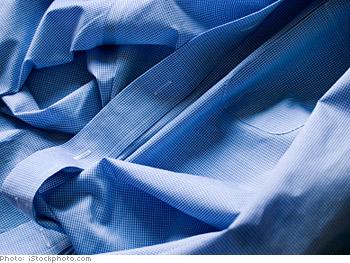 Choose wrinkle free fabrics.