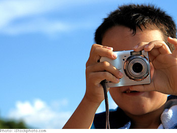 Have your kids take pictures.