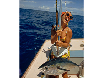Sport fishing in 1971
