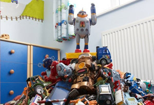 Swapping toys saves money and reduces waste.
