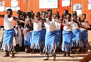 Rwandan girls