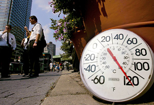 The temperatures are rising around the country.