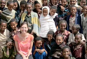 Nike Foundation founding president Maria Eitel
