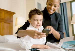 Hotels offer amenities to businesswomen.