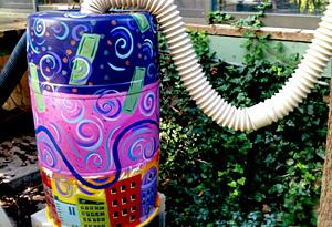 Simran Sethi loves this Van Go Mobile Arts rain barrel.