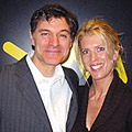 Dr. Oz and Deirdre Imus