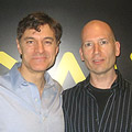 Dr. Oz and Michael Gilbert
