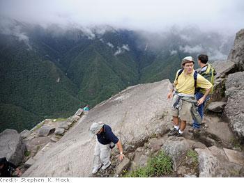 Dr. Oz at Waynu Picchu