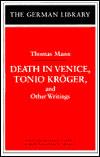 'Tonio Kroger' by Thomas Mann