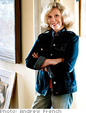 Erica Jong, writer with a feminist flare