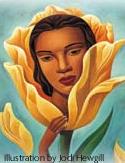 The true self blossoms