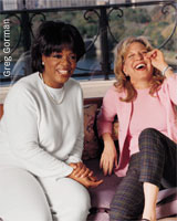 Oprah and Bette Midler