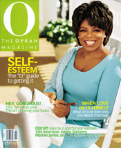 Behind the scenes of an Oprah cover shoot for O the Oprah Magazine.