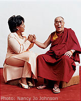 Oprah and the Dalai Lama